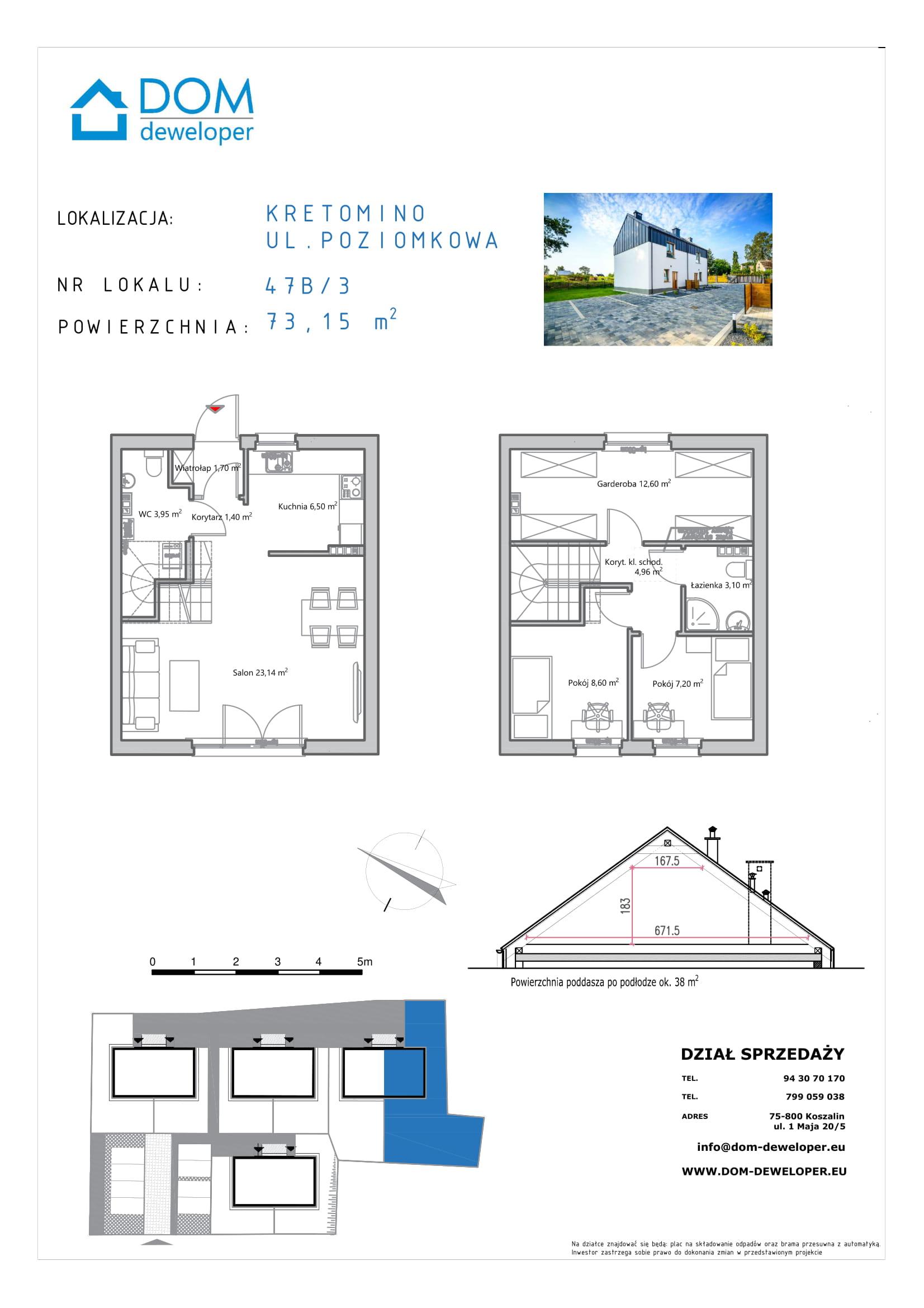 dom deweloper Koszalin karta poziomkowe 2